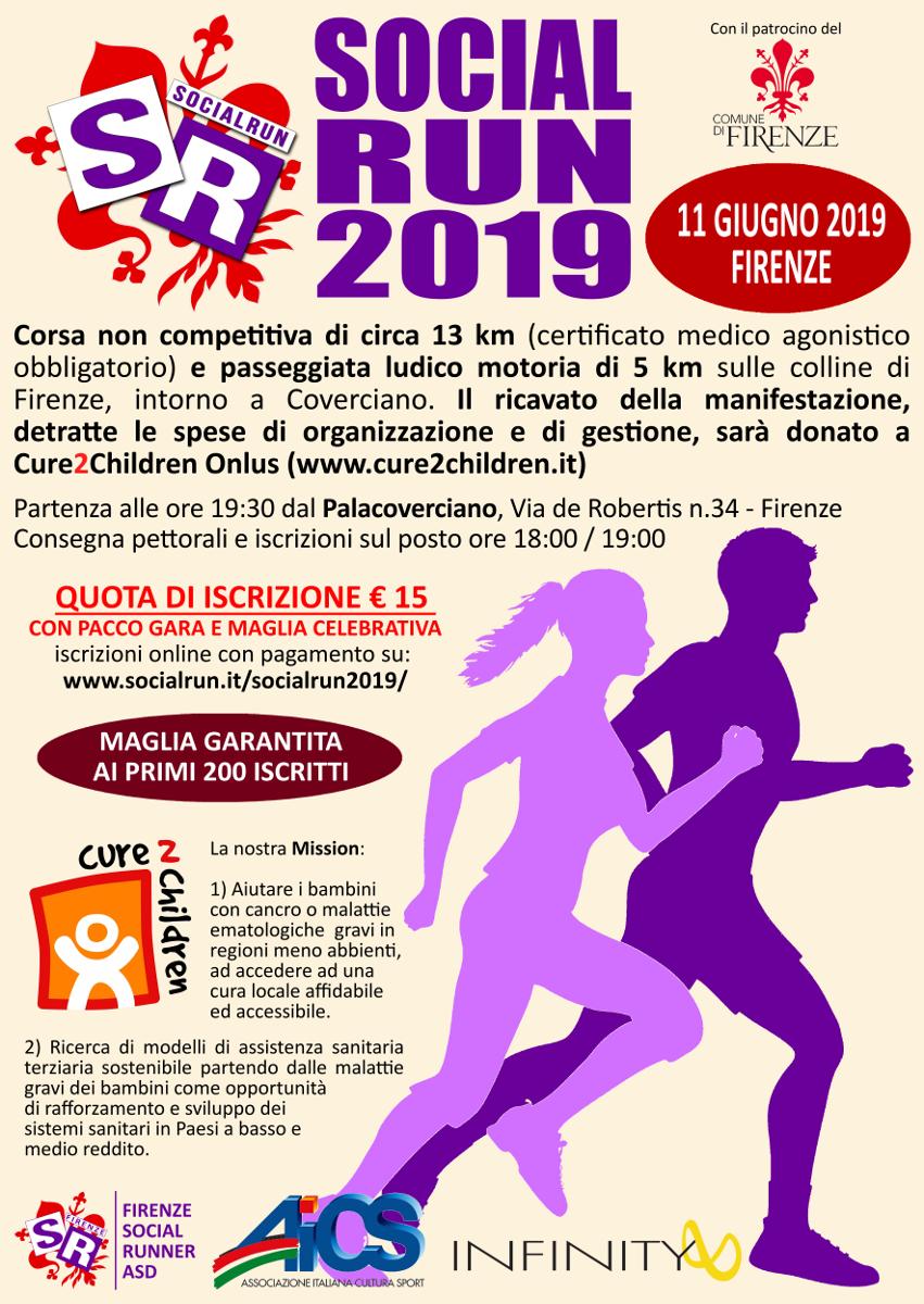 SocialRun2019 – Volantino